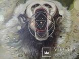 Картина, беспредметная живопись, холст, масло, 84х102, фото №4