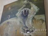 Картина, беспредметная живопись, холст, масло, 84х102, фото №5