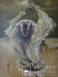 Картина, беспредметная живопись, холст, масло, 84х102, фото №6