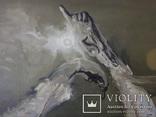 Картина, беспредметная живопись, холст, масло, 84х102, фото №2