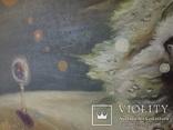 Картина, беспредметная живопись, холст, масло, 84х102, фото №9