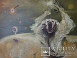 Картина, беспредметная живопись, холст, масло, 84х102, фото №10