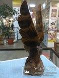Орел деревянный, фото №3