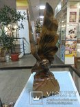 Орел деревянный, фото №4