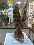 Орел деревянный, фото №5