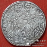 1 талер 1601 год , Три брата. Германия, Саксония, фото №5