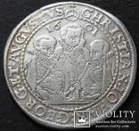1 талер 1601 год , Три брата. Германия, Саксония, фото №6