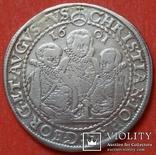 1 талер 1601 год , Три брата. Германия, Саксония, фото №7