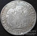 1 талер 1601 год , Три брата. Германия, Саксония, фото №12