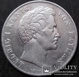 2 гульдена 1846 года, Королевство Бавария (1806 - 1918), Людвиг, Серебро, фото №2