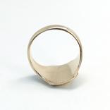 Масонское золотое (10к) кольцо с эмалями, фото №8