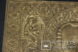 Большая медно-литая икона Святой Николай, фото №3