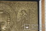 Большая медно-литая икона Святой Николай, фото №4