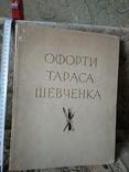 Офорти Тараса Шевченка, 345х270, 1964, фото №2
