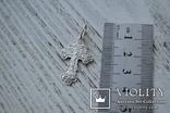 Крестик Серебро  №2 1,5, фото №2