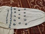Сорочка жіноча 9 вишита гладью, фото №4