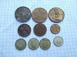 Швеція, 10 монет 1919 - 1962 рр., фото №2