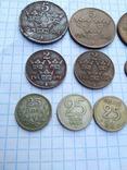 Швеція, 10 монет 1919 - 1962 рр., фото №5