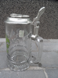 Пивная кружка Cтекло  0,5 L Alwe Germany, фото №10