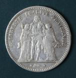 5 франков 1873, фото №2