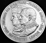 5 марок 1909 року, Саксонія, 500 років університету Лейпцига, срібло, фото №2