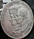 5 марок 1909 року, Саксонія, 500 років університету Лейпцига, срібло, фото №8