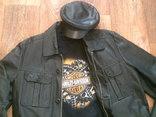 Tom Teilor + Harley Davidson разм. XL- куртка,футболка,кепка, фото №2
