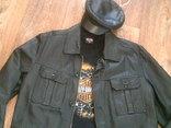 Tom Teilor + Harley Davidson разм. XL- куртка,футболка,кепка, фото №6