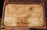 Стара картина підрамник на кілках 75х120см, фото №4