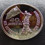Германия-ГДР 5 марок 1985 пробная монета,PROOF,Редкость,Н20. Копия., фото №3