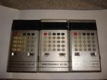 Калькуляторы СССР, 3 шт., фото №2