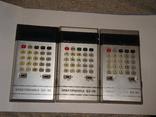 Калькуляторы СССР, 3 шт., фото №3
