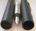 Новая перьевая ручка Parker Vector, made in UК. Перо F. Оригинал. Пишет мягко и тонко., фото №9