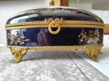 Фарфоровая шкатулка Limose , Франция, фото №9