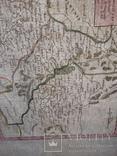 1749 Карта Подолья и Волыни 50х40 см., фото №3
