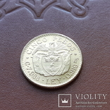 Золото 5 песо 1928 р.  Колумбія, фото №6