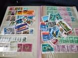 Кляссер с марками Европы + бонус гора марок, фото №3