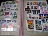 Кляссер с марками Европы + бонус гора марок, фото №10