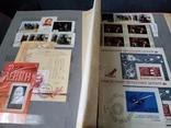 Кляссер с большим набором  марок и блоков СССР, фото №4