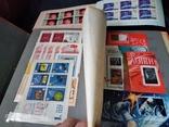 Кляссер с большим набором  марок и блоков СССР, фото №6