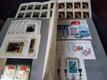Кляссер с большим набором  марок и блоков СССР, фото №8
