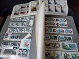 Кляссер с большим набором  марок и блоков СССР, фото №9