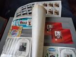 Кляссер с большим набором  марок и блоков СССР, фото №10