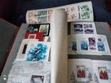 Кляссер с большим набором  марок и блоков СССР, фото №11