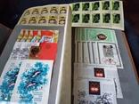 Кляссер с большим набором  марок и блоков СССР, фото №12