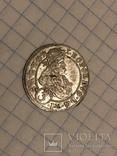 3 крейцера 1698 штемпельный блеск, фото №2