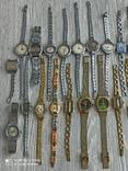 Часы женские / 85 шт. + 10 механизмов (большинство СССР), фото №3