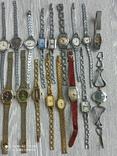 Часы женские / 85 шт. + 10 механизмов (большинство СССР), фото №4