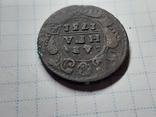 Деньга 1731 перечекан, фото №3