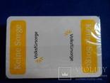 Карты игральные Германия с логотипом фирмы Volksfursorge 2 колоды по 55 шт в колоде лот 1, фото №4
